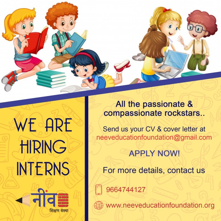 We're Hiring Interns