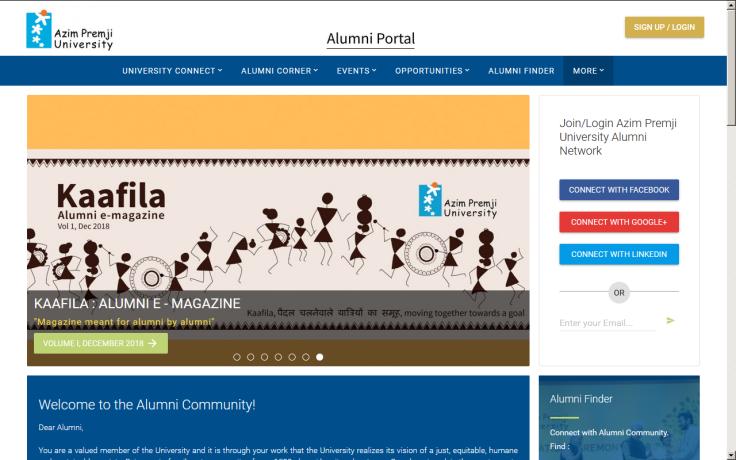 Alumni Portal